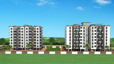 Gallery Cover Image of 794 Sq.ft 2 BHK Apartment for rent in Bassera Residency, Rahatani for 18000