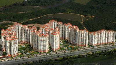 Gallery Cover Image of 1640 Sq.ft 3 BHK Apartment for rent in Amrapali Sapphire, Sector 45 for 22500