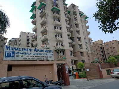 Gallery Cover Image of 1800 Sq.ft 3 BHK Apartment for rent in Management Apartments, Sector 5 Dwarka for 32000