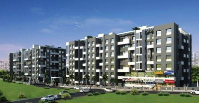 Gallery Cover Image of 609 Sq.ft 1 BHK Apartment for buy in Yogesh Basil Park A And B Wing, Bhosari for 3700000