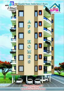 Gallery Cover Image of 980 Sq.ft 3 BHK Apartment for rent in APS Homes, Shahberi for 10000