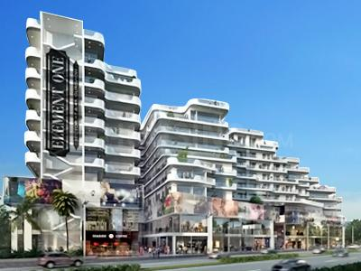 Gallery Cover Image of 671 Sq.ft 1 RK Apartment for buy in Satya Group Element One, Sector 47 for 12500000
