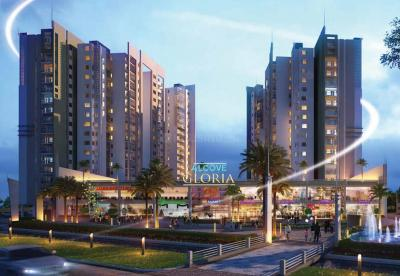 Gallery Cover Image of 1521 Sq.ft 3 BHK Apartment for rent in Alcove Gloria, Lake Town for 32500