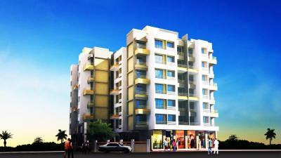 Gallery Cover Image of 605 Sq.ft 1 BHK Apartment for buy in Charms Corner, Vitthalwadi for 3600000