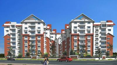 Gallery Cover Image of 1870 Sq.ft 3 BHK Apartment for rent in Aditya DSR Lake Side, Gachibowli for 33000