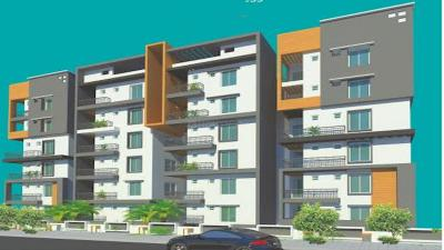 Gallery Cover Image of 1560 Sq.ft 3 BHK Apartment for rent in Heights Two, Kondapur for 30000