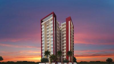 Gallery Cover Image of 600 Sq.ft 1 BHK Apartment for rent in Bhoomi Acres, Hiranandani Estate for 17000