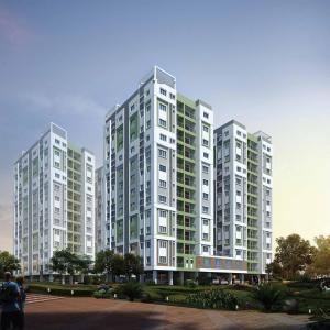 Gallery Cover Image of 1062 Sq.ft 3 BHK Apartment for buy in Greenfield City, Maheshtala for 4000000