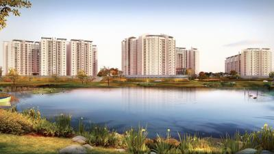 Gallery Cover Image of 1330 Sq.ft 2 BHK Apartment for rent in Brigade Lakefront, Hoodi for 40000