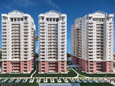 Gallery Cover Image of 2040 Sq.ft 3 BHK Apartment for rent in SPR Imperial Estate, Sector 82 for 23000
