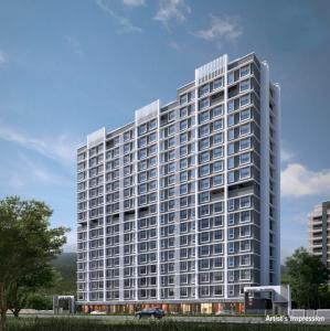 Gallery Cover Image of 495 Sq.ft 1 RK Apartment for buy in Crescent Sky Heights Phase 2, Dahisar East for 4800000