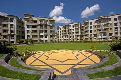 Gallery Cover Image of 1101 Sq.ft 3 BHK Apartment for rent in Fortune Township, Barasat for 9000