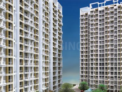 Gallery Cover Image of 500 Sq.ft 1 BHK Independent Floor for buy in JSB Nakshatra Primus, Naigaon East for 2750000