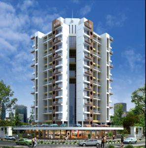 Gallery Cover Image of 710 Sq.ft 1 BHK Apartment for rent in Om Sai Heights Apartment, Ulwe for 8500