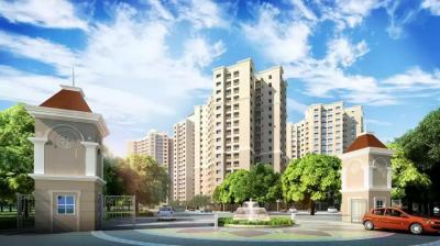 Gallery Cover Image of 635 Sq.ft 1 BHK Apartment for rent in Marathon Nextown, Padle Gaon for 7500