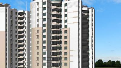 Gallery Cover Image of 1060 Sq.ft 2 BHK Apartment for buy in Gaursons Hi Tech Heights, Vaishali for 7000000
