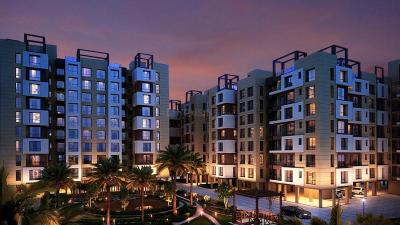 Gallery Cover Image of 1155 Sq.ft 3 BHK Apartment for rent in Riya Manbhari Greens, Bankra for 15000