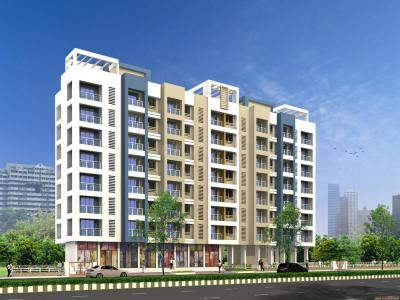 Gallery Cover Image of 645 Sq.ft 1 BHK Apartment for buy in Rosa Elite, Thane West for 5200000