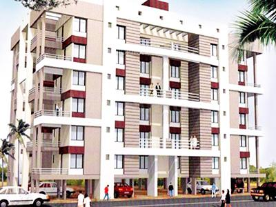 Gallery Cover Image of 695 Sq.ft 1 BHK Apartment for buy in Sukhwani Udyan, Chinchwad for 4400000