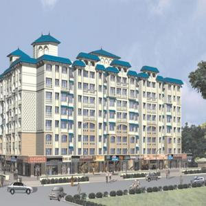 Gallery Cover Image of 635 Sq.ft 1 BHK Apartment for buy in Khandelwal Seawoods Phase 1, Borivali West for 9000000