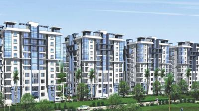 Gallery Cover Image of 1340 Sq.ft 3 BHK Apartment for rent in Janapriya Nile Valley, Miyapur for 18500