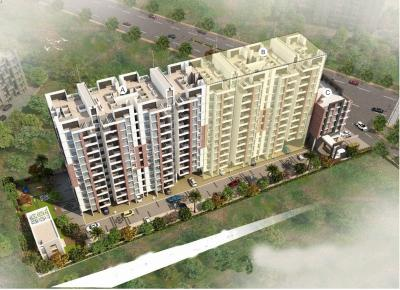 Gallery Cover Image of 757 Sq.ft 2 BHK Apartment for buy in Nisarg Unicorn Nisarg Belrose A And C Building, Wakad for 5400000
