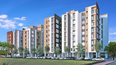 Gallery Cover Image of 660 Sq.ft 1 RK Apartment for buy in PS Equinox, Tangra for 4500000