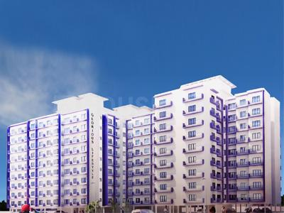 Gallery Cover Image of 670 Sq.ft 1 BHK Apartment for buy in Nine Realcon Glorious Lifestyle, Nalasopara West for 2680000