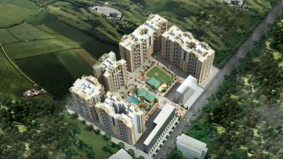 Gallery Cover Image of 955 Sq.ft 2 BHK Apartment for rent in Goel Ganga Ashiyana, Thergaon for 20000