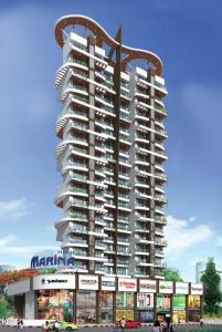 Gallery Cover Image of 1100 Sq.ft 3 BHK Apartment for buy in Pranjee Marina, Kopar Khairane for 24000000