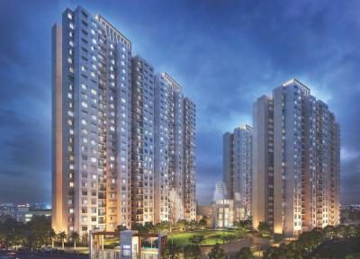 Gallery Cover Image of 1090 Sq.ft 2 BHK Apartment for buy in Ideal Aquaview, Salt Lake City for 6200000