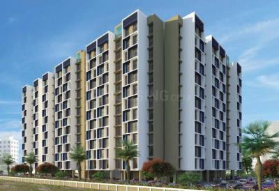 Gallery Cover Image of 600 Sq.ft 1 BHK Apartment for buy in Neel Sidhi Orbit, Greater Khanda for 5600000