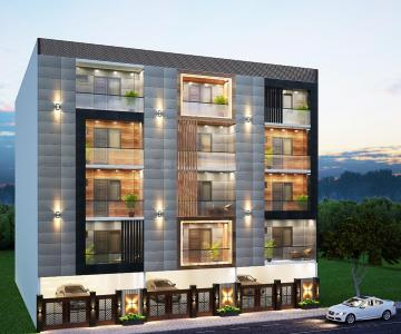 Gallery Cover Image of 550 Sq.ft 2 BHK Apartment for buy in S Gambhir Affordables And Luxury Homes, Dwarka Mor for 3200000