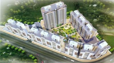 Gallery Cover Image of 449 Sq.ft 1 BHK Independent House for buy in Squarefeet Grand Square, Kasarvadavali, Thane West for 4700000