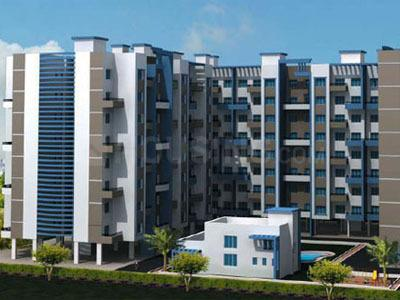Gallery Cover Image of 710 Sq.ft 1 BHK Apartment for rent in Vardhaman Heights Phase2, Rahatani for 14000