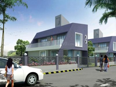 Gallery Cover Image of 654 Sq.ft 1 BHK Apartment for rent in Tharwani Ritu World Villas, Badlapur West for 5500