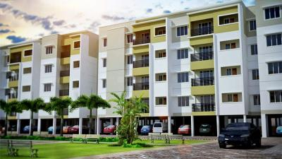 Gallery Cover Image of 1200 Sq.ft 3 BHK Apartment for rent in Plaza Bounty Acres, Keelakattalai for 25000