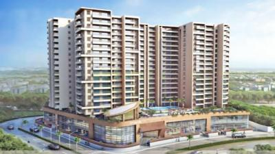 Gallery Cover Image of 2254 Sq.ft 3 BHK Apartment for rent in Bharat Skyvistas Bluez, Andheri West for 130000