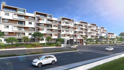 Gallery Cover Image of 2030 Sq.ft 3 BHK Apartment for rent in Patels Bright View, Balaji Nagar for 30000