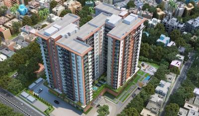 Gallery Cover Image of 3041 Sq.ft 4 BHK Apartment for buy in Parakite Ambience Downtown, Lingarajapuram for 35000000