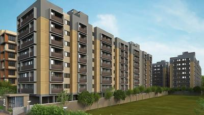 Gallery Cover Image of 715 Sq.ft 1 BHK Apartment for rent in Bakeri Shaunak, Vejalpur for 11000