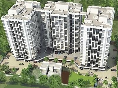 Gallery Cover Image of 844 Sq.ft 2 BHK Apartment for rent in Kumbare Fusion City, Kondhawe-Dhawade for 11500