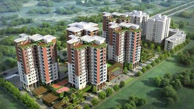 Gallery Cover Image of 1550 Sq.ft 3 BHK Apartment for buy in Swan Court, New Town for 7456000
