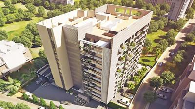 Gallery Cover Image of 1000 Sq.ft 2 BHK Apartment for buy in 5 Star Royal Majestic, Rahatani for 8700000