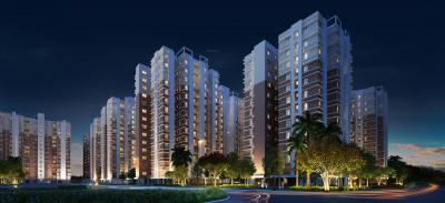 Gallery Cover Image of 1260 Sq.ft 3 BHK Apartment for rent in DTC Southern Heights, Joka for 16000