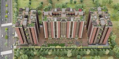 Gallery Cover Image of 1555 Sq.ft 3 BHK Apartment for buy in Kaveri Soham Vivanta, Bopal for 7000000