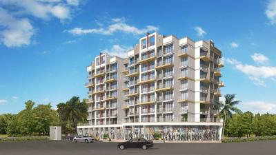 Gallery Cover Image of 690 Sq.ft 1 BHK Apartment for rent in Adinath Alpine, Greater Khanda for 12000