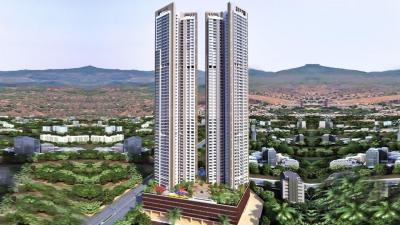 Gallery Cover Image of 1410 Sq.ft 3 BHK Apartment for rent in SD Building No 2 Wings A and B Alpine, Kandivali East for 45000