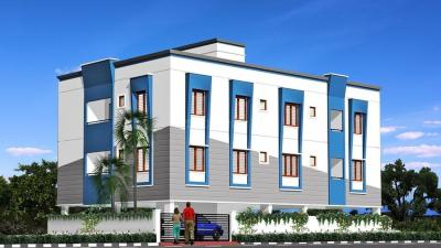 Gallery Cover Image of 865 Sq.ft 2 BHK Apartment for buy in SRM Kausthub, Pallikaranai for 4450000