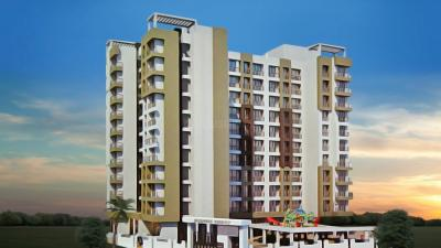 Gallery Cover Image of 594 Sq.ft 1 BHK Apartment for buy in Skywards Regency, Diva Gaon for 3300000